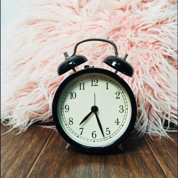 Ikea Other Black Vintage Looking Alarm Clock Poshmark
